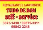 Restaurante e Lanchonete Tudo de Bom